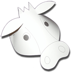 Sample of cow hat