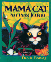 Mama Cat Has Three Kittens cover
