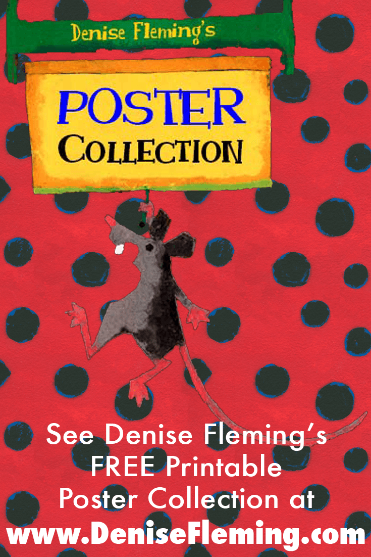 Read Poster Collection Denise Fleming Children S Books